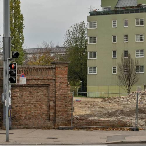 Das Ende einer Wiener Mauer