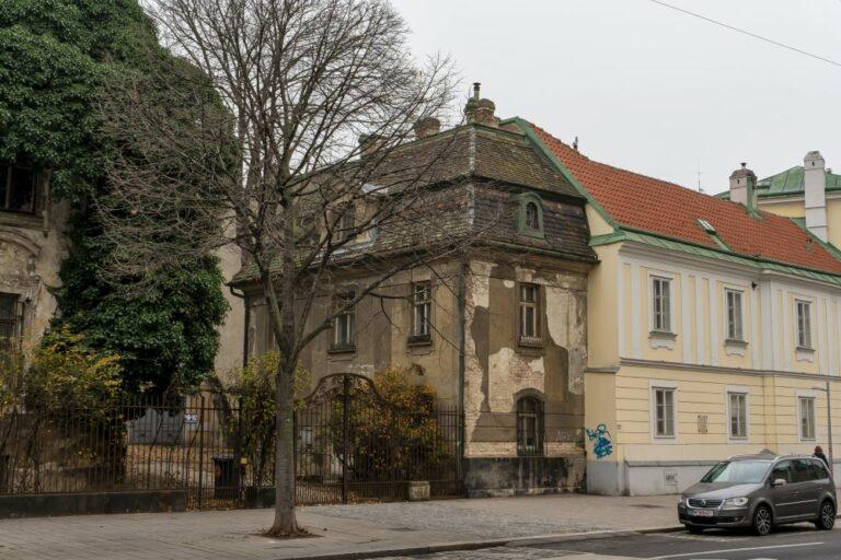 Villa Mautner-Jäger, erbaut 1902, Architekt: Franz Neumann, Landstraßer Hauptstraße 140-142, Jugendstil
