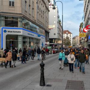 Rotenturmstraße transformiert