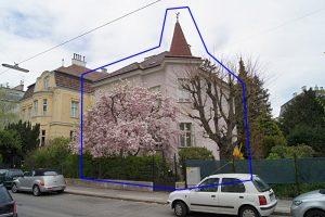 Villa in der Schlöglgasse 4, Wien, später abgerissen