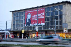 Bahnhofshalle des Wiener Südbahnhofs, abgerissen