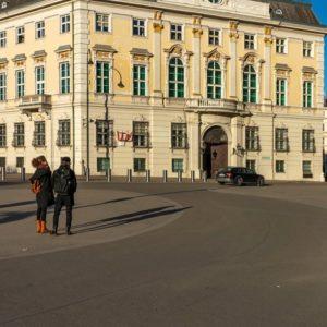 Asphalt regiert am Ballhausplatz