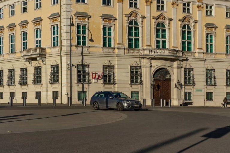 Ballhausplatz, Bundeskanzleramt, Wien, Innere Stadt