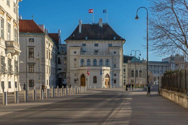 Hofburg und Ballhausplatz, Wien, Innere Stadt
