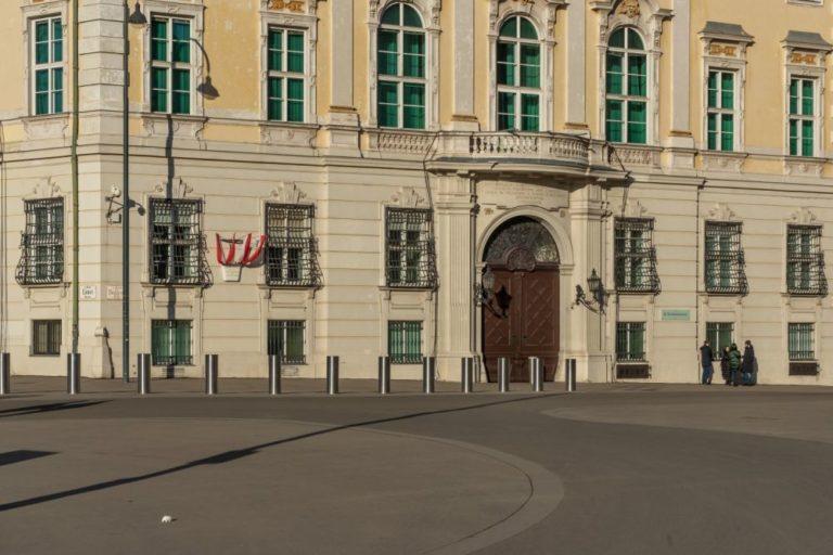 Ballhausplatz mit Bundeskanzleramt, Wien, Innere Stadt