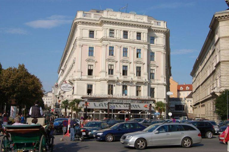 Parkplatz vor dem Café Landtmann, 1010 Wien