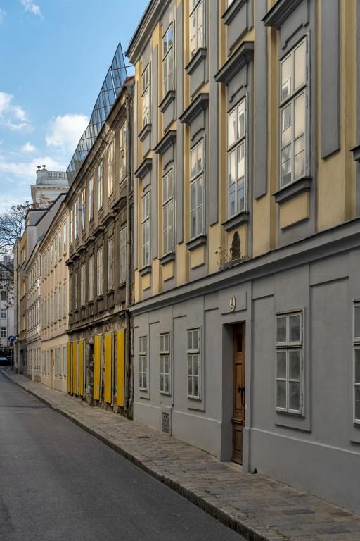 Häuserensemble in der Freundgasse in Wien-Wieden (4. Bezirk)