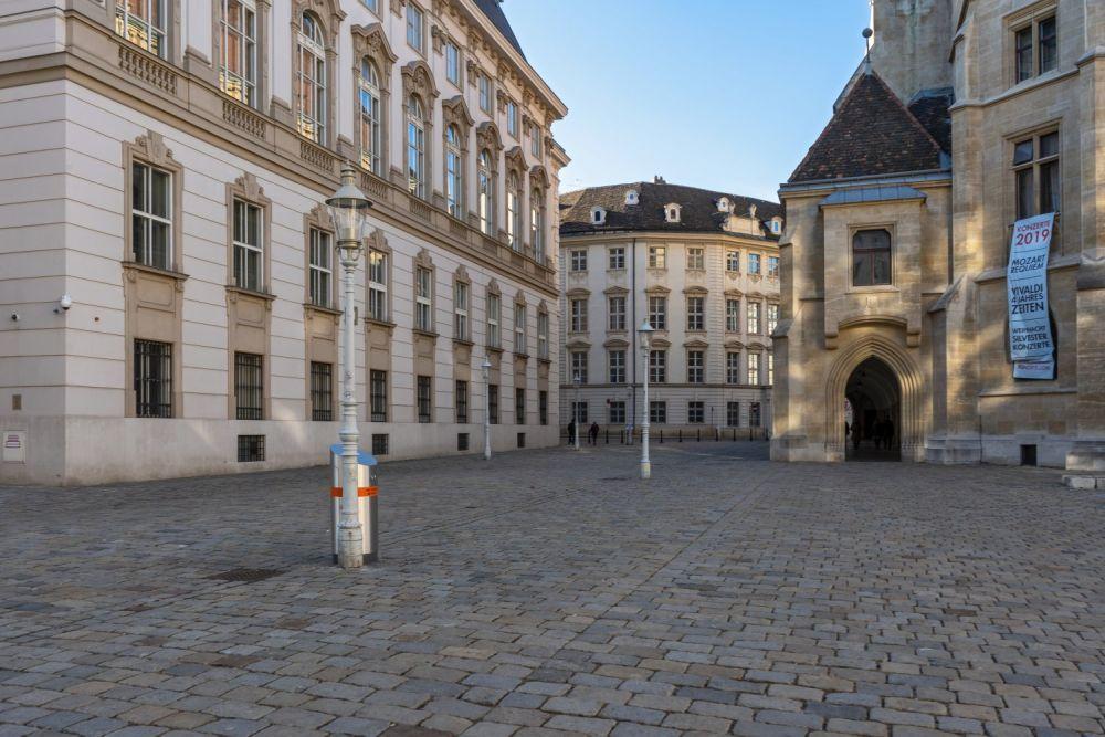 Minoritenplatz, Haus-, Hof- und Staatsarchiv, Minoritenkirche, Wien, Innere Stadt