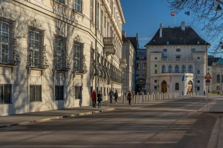 Löwelstraße, Ballhausplatz Nr. 2, Hofburg, Wien