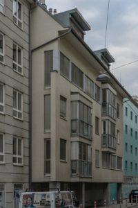 Gebäude Tigergasse 21, erbaut nach Abriss eines 1785 erbauten Gebäudes, 1080 Wien
