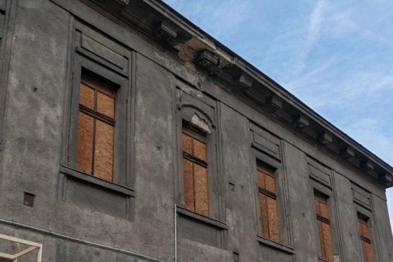 Verwaltungsgebäude des ehemaligen Bahnhofs Hauptzollamt in Wien Mitte