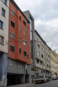 Neubau in der Wallgasse 15-17, 1060 Wien, ersetzt zwei Gründerzeithäuser