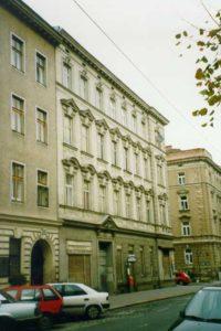 Altbau Goldschlagstraße 54 vor dem Abriss, Wien, Rudolfsheim-Fünfhaus