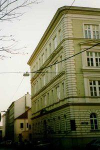 Altbau Hackengasse 11 vor dem Abriss, 15. Bezirk, Wien