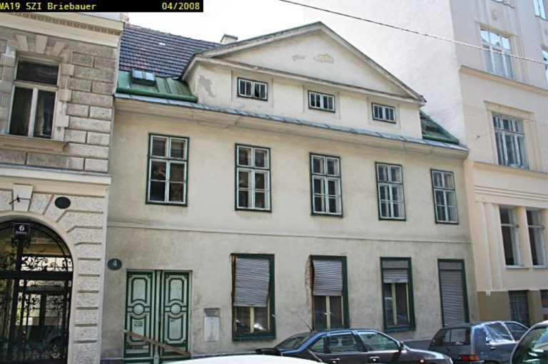 Gebäude in der Halbgasse 4, Abriss 2009, 1070 Wien