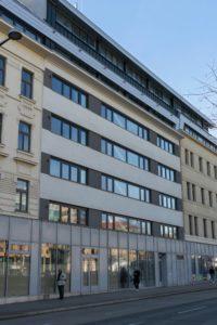 Neubau Neubaugürtel 15, nach Abriss des Altbaus, Rudolfsheim-Fünfhaus, Wien