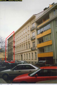 Jugendstilhaus Rosasgasse 19, erbaut 1904, Abriss um 2010, Wien-Meidling
