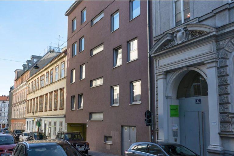 Neubau Sperrgasse 15 nach Abriss des Altbaus, Rudolfsheim-Fünfhaus, Wien