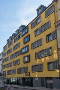 Neubau Stättermayergasse 15-17, nach Abriss des Altbaus, 1150 Wien
