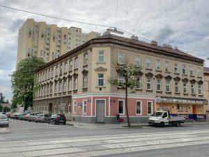 Gründerzeithaus Wagramer Straße 116, Baujahr 1899, Abriss um 2015, Wien-Donaustadt