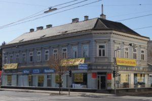 Altbau Wagramer Straße 123 vor dem Abriss, Wien, 22. Bezirk