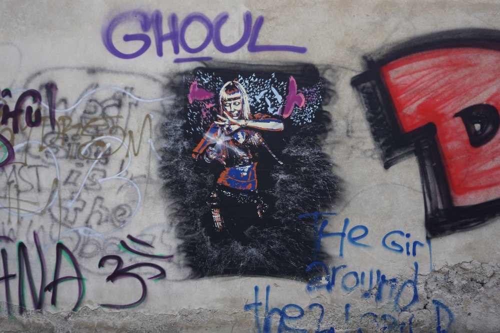 Graffiti in Wien-Erdberg