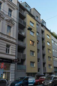 Neubau in der Weyringergasse 38, nach Abriss eines Altbaus, 1040 Wien