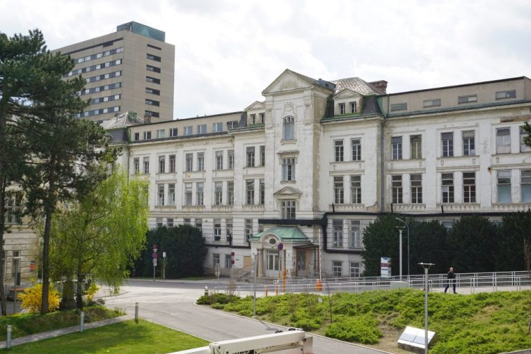 I. Medizinische Klinik und Personalwohnhaus, AKH, Wien, Lazarettgassenweg