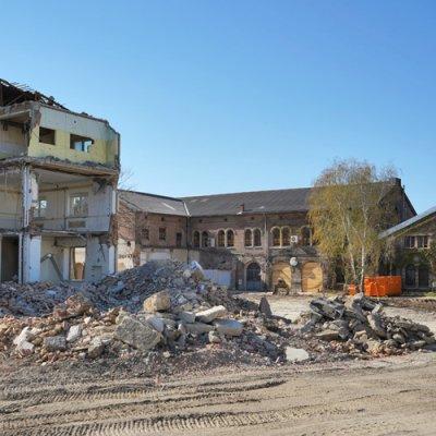 Verplant hinterm Hauptbahnhof: Neues Landgut