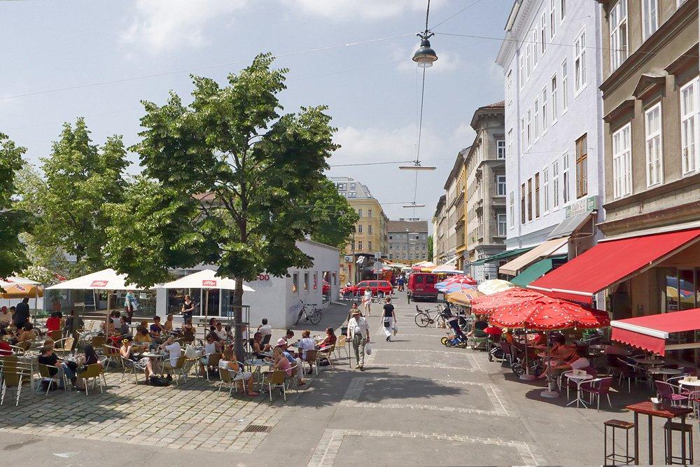 Yppenmarkt am Yppenplatz, Wien-Ottakring
