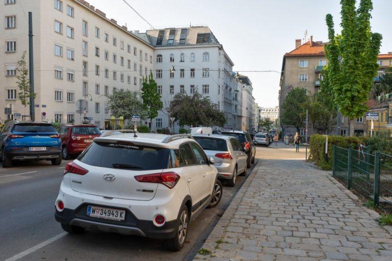 Albertplatz in Wien-Josefstadt (Foto: 2020)