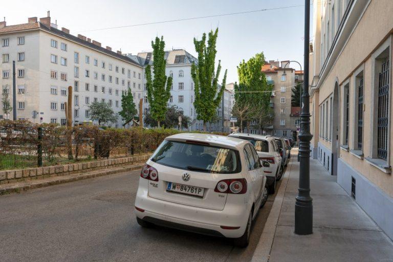 Albertplatz in Wien-Josefstadt