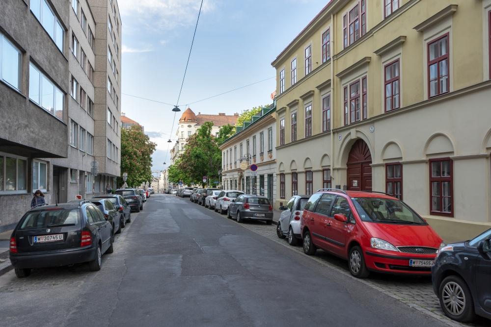 Bennogasse in Richtung Bennoplatz