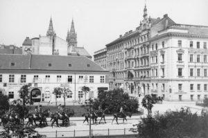 Bennoplatz, historische Aufnahme, 1080 Wien