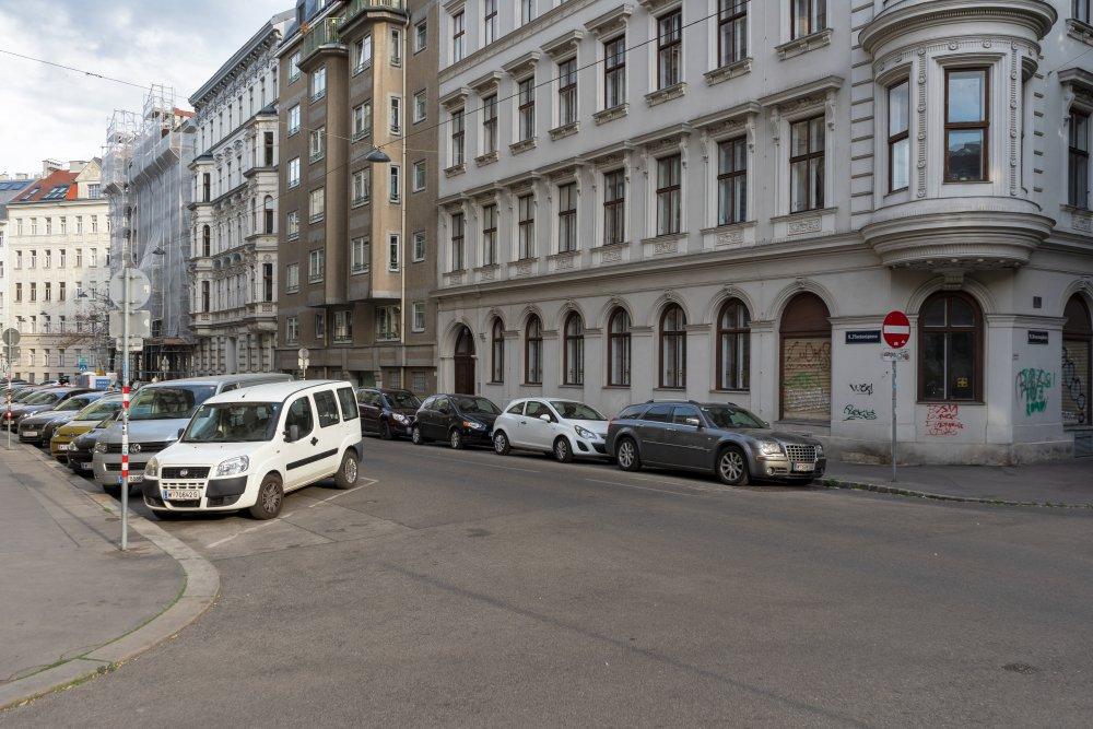 Florianigasse, Häuser, Autos, Straße, Wien