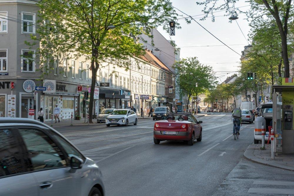 Äußere Mariahilfer Straße (Foto: 2020)