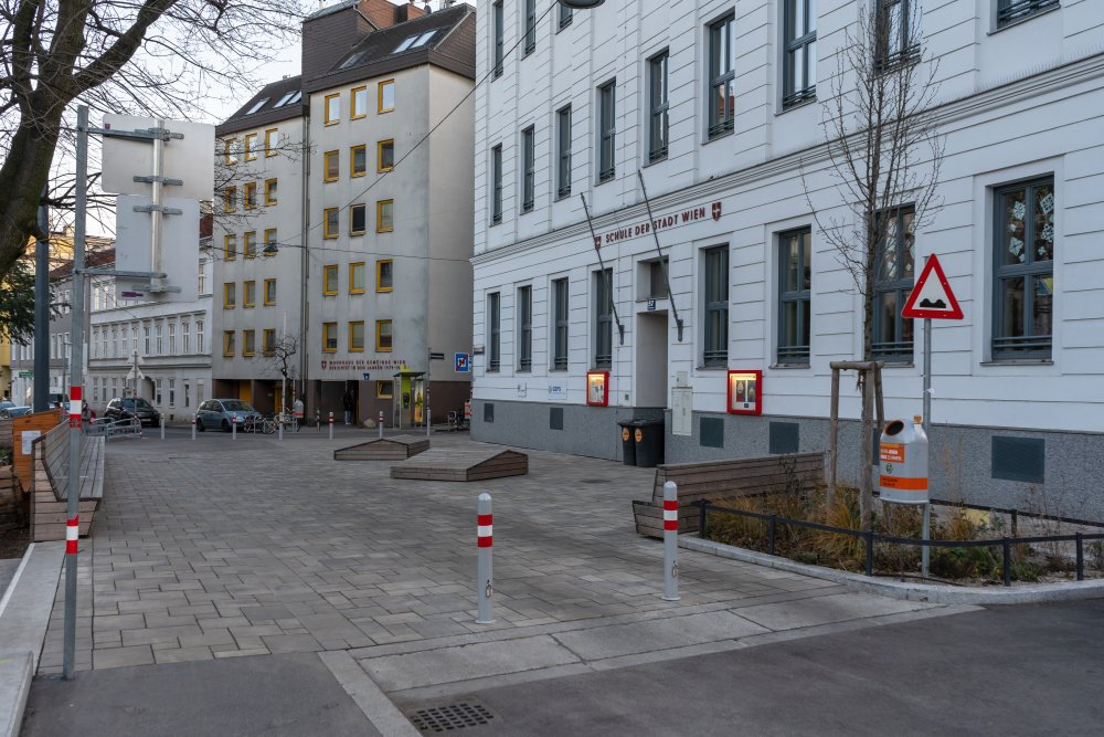 Schulgasse, Verkehrsberuhigung, Währing, Wien