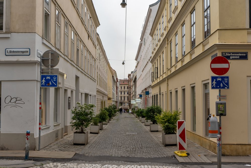 Stuckgasse in Wien-Neubau