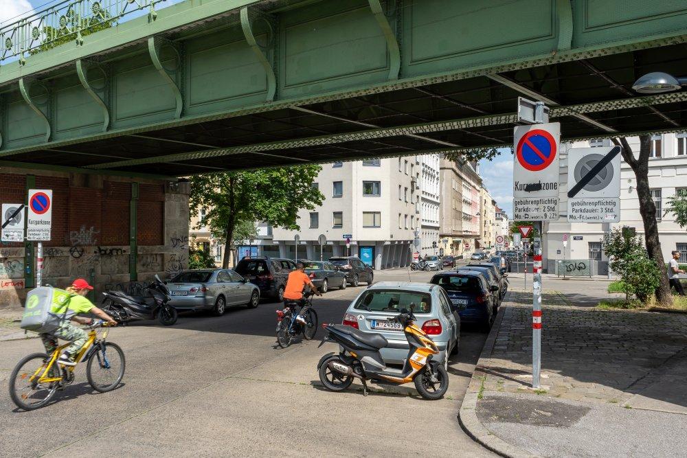 Hernalser Gürtel, Brücke der U6-Trasse (Stadtbahn), Wien
