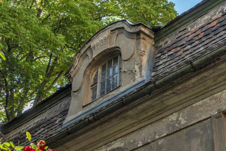 Dachfenster der Villa in der Landstraßer Hauptstraße 140-142, 1030 Wien