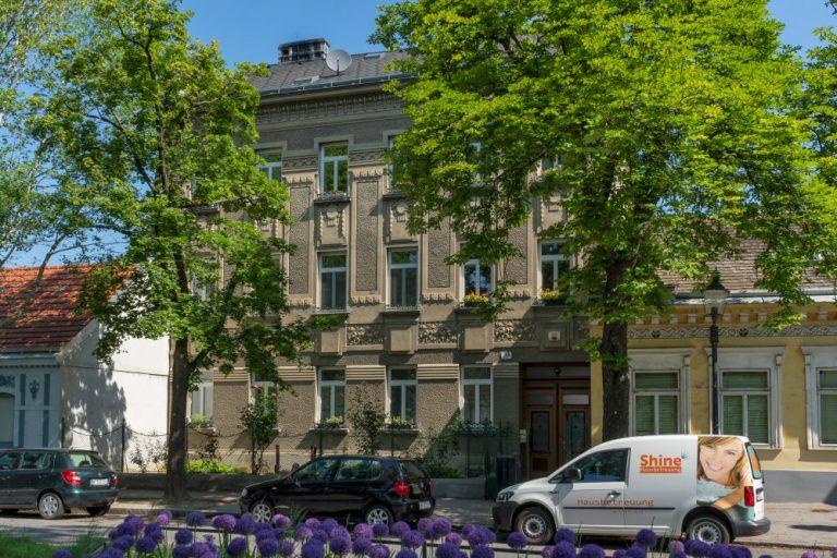 Leopoldauer Platz Nr. 33: erbaut 1912 (Foto: 2020)