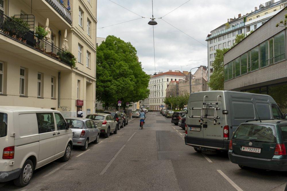 Pfeilgasse in Wien-Josefstadt