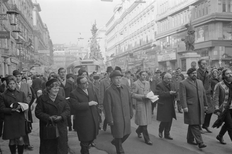 Fußgängerzone am Graben wird eröffnet, Wien