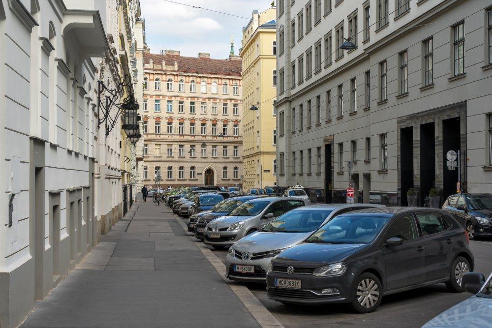 Krotenthallergasse in Wien-Josefstadt