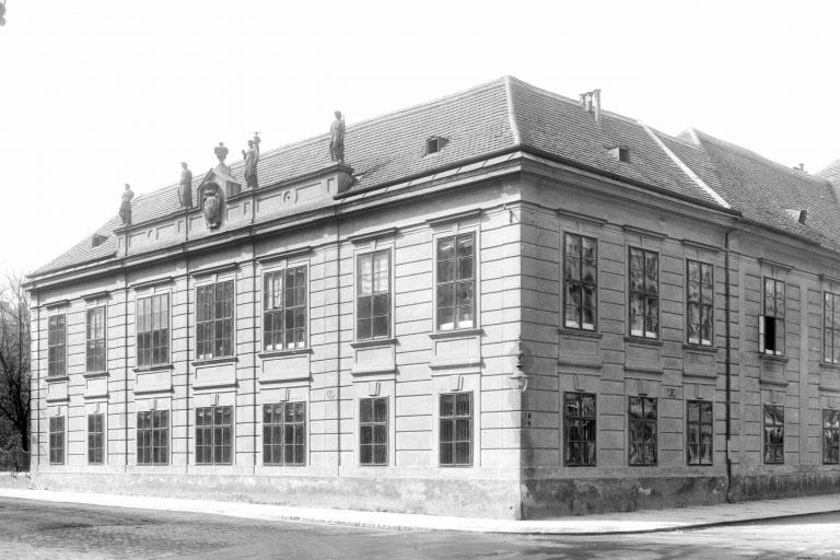 historische Aufnahme des Palais Schönborn, Wien-Josefstadt
