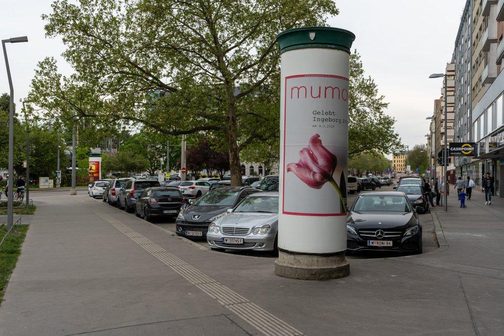 Praterstern: viel Asphalt, unattraktive Gestaltung (Foto: 2020)