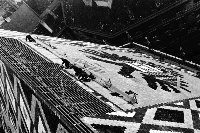 Dach des Wiener Stephansdoms wird wiederhergestellt