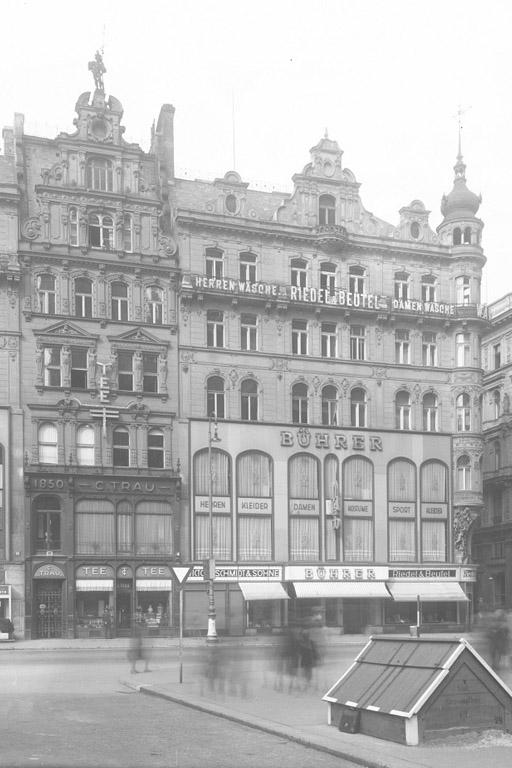 Gebäude Stephansplatz 10 nach Enteignung der jüdischen Besitzer, 1940er-Jahre
