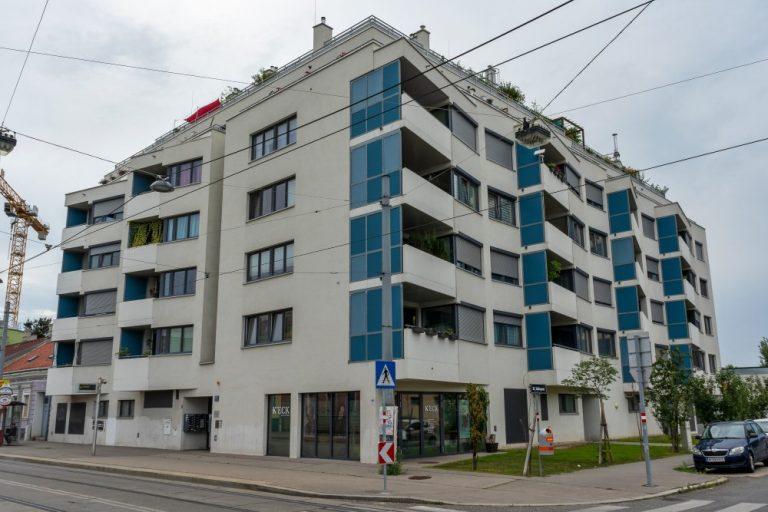 Wohnhausanlage in der Donaufelder Straße, Donaustadt, Wien