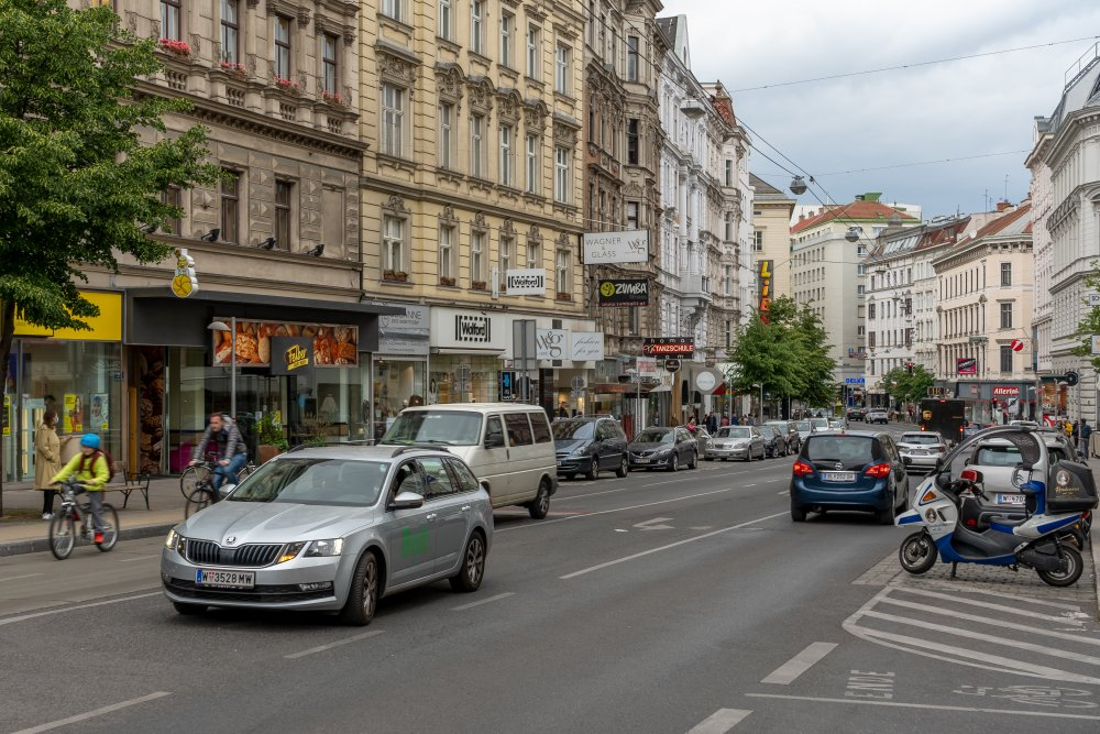 Landstraßer Hauptstraße, Weyrgasse, Wien
